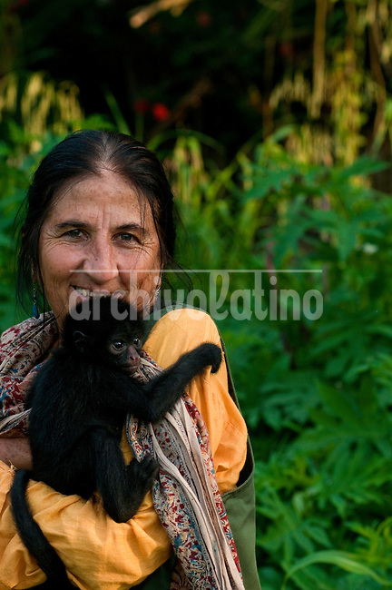 Evicted at gunpoint from the vast Bolivian national park she helped set up, Rosa Maria Ruiz is still battling to protect threatened areas of rainforest in the Bolivian portion of the Amazon rain forest.