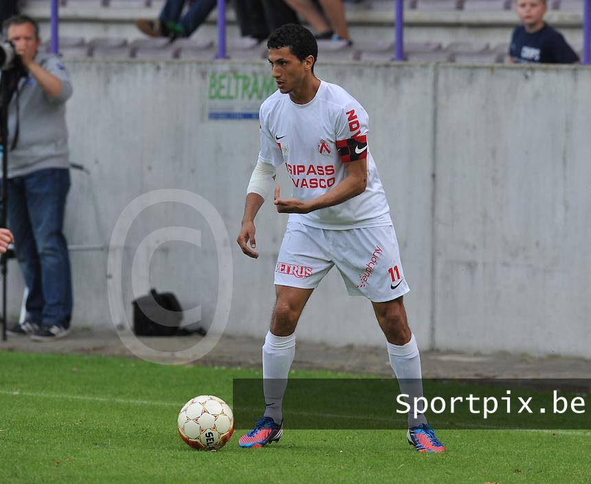 KV Kortrijk :  Mustapha Oussalah.foto VDB / BART VANDENBROUCKE