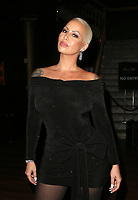 LOS ANGELES, CA - DECEMBER 5: Amber Rose, at The National Film and Television Awards at The Globe Theater in Los Angeles, California on December 5, 2018. Credit: Faye Sadou/MediaPunch