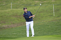 Ricardo Gouveia (POR) on the 1st fairway during Round 4 of the Open de Espana 2018 at Centro Nacional de Golf on Sunday 15th April 2018.<br /> Picture:  Thos Caffrey / www.golffile.ie<br /> <br /> All photo usage must carry mandatory copyright credit (&copy; Golffile | Thos Caffrey)
