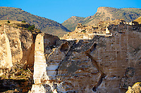 Ruins of the Ayyubids Small Palace in the citadel of ancient Hasankeyf overlooking the Tigris River. Turkey 14
