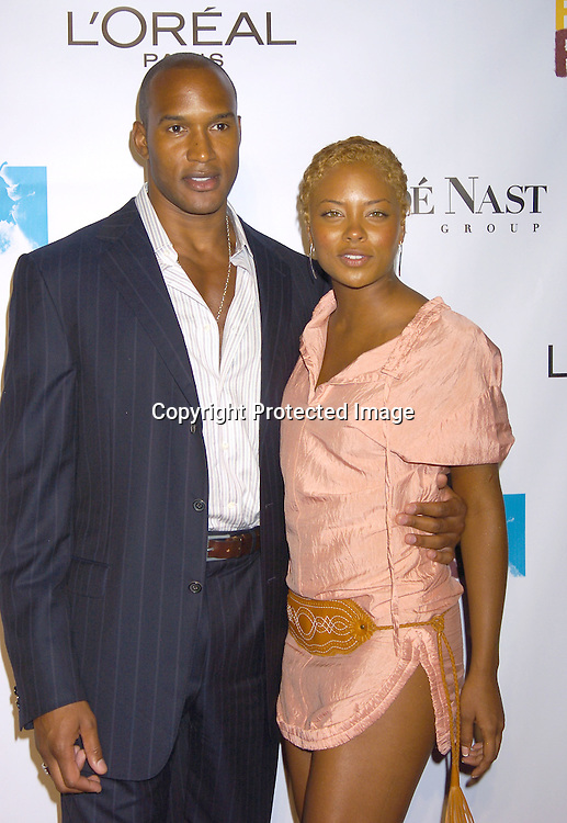 Henry Simmons and Eva Pigford ..at the Conde Nast Media Group Fashion Rocks second annual live concert on September 8, 2005 at Radio City Music Hall. ..Photo by Robin Platzer, Twin Images