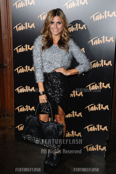 Zoe Hardman arriving for the Tabitha Collection Launch, at 5 Canvendish Square, London. 05/09/2012 Picture by: Steve Vas / Featureflash
