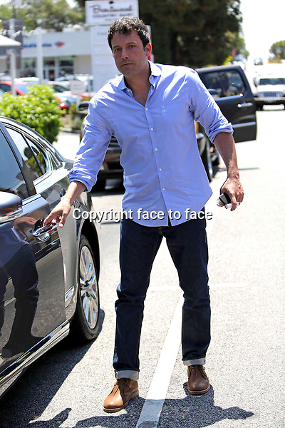 Ben Affleck out and about in Brentwood on june 9, 2013<br /> Credit: Vida/face to face