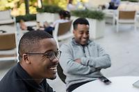 Student portraits at the Duke University Fuqua School of Business in Durham, North Carolina Wednesday, October 3, 2018. (Justin Cook)