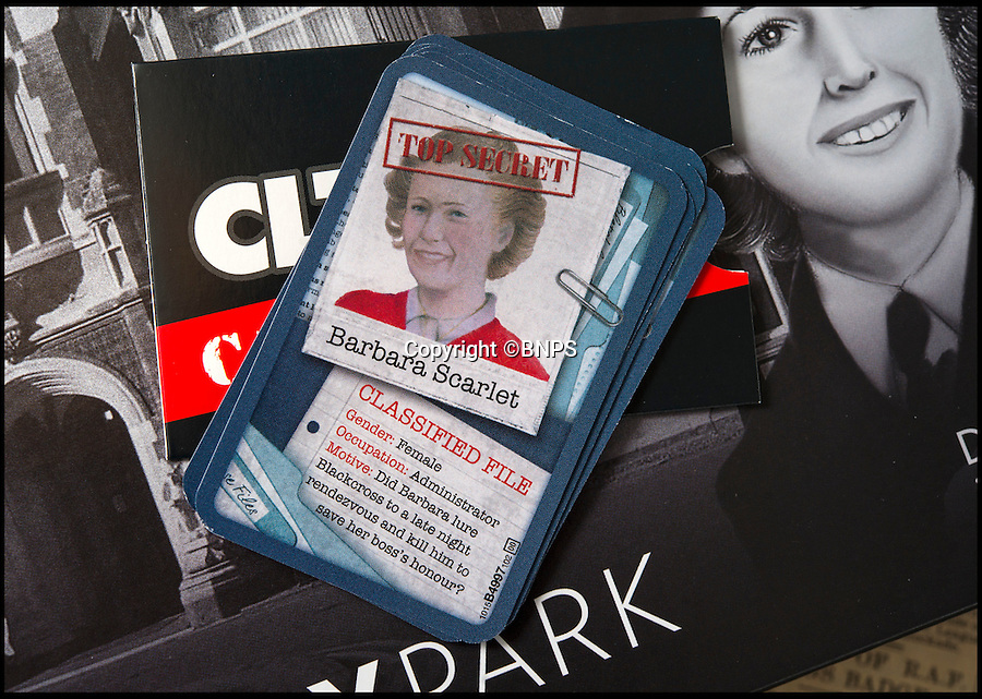 BNPS.co.uk (01202 558833)<br /> Pic: PhilYeomans/BNPS<br /> <br /> Bletchley veteran Barbara Abernethy's character card.<br /> <br /> Immitation game - Top Secret Bletchley Park gets its own murder mystery game in time for Xmas.<br /> <br /> Featuring characters based on the real boffins from the wartime establishment, including Bombe machine operator Ruth Bourne who is delighted to be immortalised in the new game.<br /> <br /> Cluedo: Bletchley Park follows the same principles as the classic game everyone knows and loves, but with an 'enigmatic' twist.<br /> <br /> During the war the country estate in Buckinghamshire housed mathematicians, linguists, chess champions, egyptologists and anthropologists all secretly working to crack Enigma, the German code machine leaders in Berlin thought was unbreakable.<br /> <br /> It is said the 'ultra' intelligence produced at Bletchley shortened the war by between two and four years and saved thousands of lives.<br /> <br /> The game is now on sale in Bletchley Park's gift shop and online, priced &pound;29.99.
