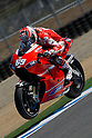 July 24, 2010 - Laguna Seca, USA - Ducati team's American rider, Nicky Hayden, powers his bike during a practice run prior to the U.S. Grand Prix held on July 25, 2010. (Photo Andrew Northcott/Nippon News)