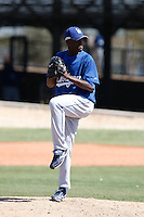 Rubby De La Rosa - Los Angeles Dodgers - 2009 spring training.Photo by:  Bill Mitchell/Four Seam Images