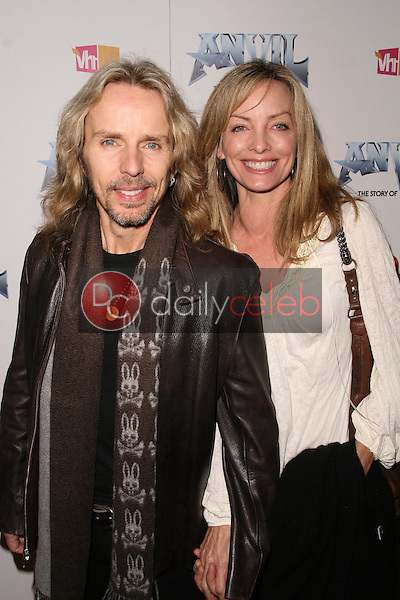 Tommy Shaw and wife Jeanne<br />