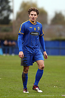 Freddy Moncur of Romford  during Romford vs Coggeshall Town, BetVictor League North Division Football at the Brentwood Centre on 16th November 2019