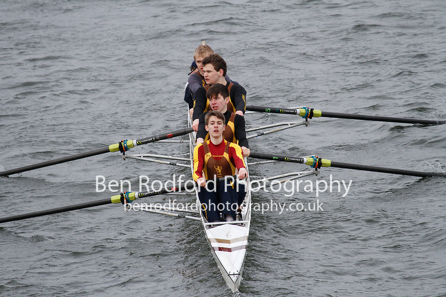 Crew: 304  Monmouth School RC  Event: J16 Fours<br /> <br /> Schools' Head of the River 2017<br /> <br /> To purchase this photo, or to see pricing information for Prints and Downloads, click the blue 'Add to Cart' button at the top-right of the page.