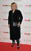 Jennifer Saunders at the Battersea Dogs &amp; Cats Home Collars &amp; Coats Gala Ball 2018, Battersea Evolution, Battersea Park, London, England, UK, on Thursday 01 November 2018.<br /> CAP/CAN<br /> &copy;CAN/Capital Pictures