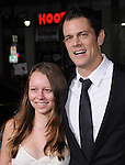 Johnny Knoxville with his daughter Madison at The Paramount Pictures' L.A. Premiere of Jack Ass 3-D held at The Grauman's Chinese Theatre in Hollywood, California on October 13,2010                                                                               © 2010 Hollywood Press Agency