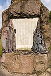 Monument memorial First Boer war, South Africa, Second Anglo-Afghan War, Afghanistan 1877 - 1881, Royal regiment of Artillery, Larkhill, Wiltshire, England, UK