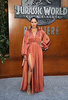 LOS ANGELES, CA - JUNE 12: Tamera Mowry-Housley, at Jurassic World: Fallen Kingdom Premiere at Walt Disney Concert Hall, Los Angeles Music Center in Los Angeles, California on June 12, 2018. <br /> CAP/MPIFS<br /> &copy;MPIFS/Capital Pictures