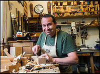 BNPS.co.uk (01202 558833)<br /> Pic: PhilYeomans/BNPS<br /> <br /> Phil Edwards still crafts wooden hand planes at his workshop in Dorset.<br /> <br /> The Heritage Craft Association have released a 'Red list' of Britains most critically endagered crafts and craftsmen.<br /> <br /> The list highlights some age old skills that are in grave danger of becoming extinct in the country formely known as the 'Workshop of the World'.<br /> <br /> According to research carried out on behalf of the HCA, four crafts have become extinct in the UK in the past 10 years &ndash; cricket ball making, gold beating, lacrosse stick making and sieve and riddle making.<br /> <br /> A further 17 crafts are classified as 'critically endangered' since they have only a handful of practitioners and few have any trainees. <br /> <br /> These include saw making, hat block making, horse collar making, paper marbling, piano making and making wooden planes for furniture. <br /> <br /> However, there are artisans scattered around the country keeping these traditional crafts alive who have long waiting lists because there is still a demand for their very specialised skills.