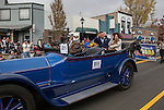 Governor Sandoval and his wife Kathleen during the Nevada Day Parade on Saturday, October 29, 2016.