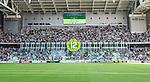 Stockholm 2014-05-24 Fotboll Superettan Hammarby IF - Varbergs BoIS FC  :  <br /> Hammarbys supportrar med tifo innan matchen<br /> (Foto: Kenta J&ouml;nsson) Nyckelord:  Superettan Tele2 Arena HIF Bajen Varberg BoIS supporter fans publik supporters