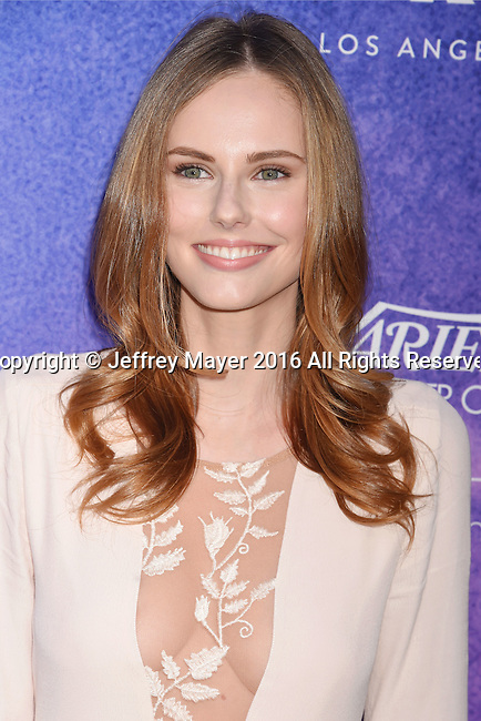 HOLLYWOOD, CA - AUGUST 16: Fashion blogger/model Alyssa Campanella arrives at Variety's Power Of Young Hollywood at NeueHouse Hollywood on August 16, 2016 in Los Angeles, California.