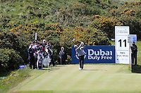 Friday 29th May 2015; Hennie Otto, South Africa, tees off at the 11<br /> <br /> Dubai Duty Free Irish Open Golf Championship 2015, Round 2 County Down Golf Club, Co. Down. Picture credit: John Dickson / SPORTSFILE