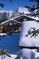 Europe/France/Rhone-Alpes/73/Savoie/Courchevel: Courcheevel 1850 les Chalets sur les pistes