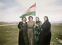Amina Ahmed Mohamed Archives. Kurdistan Iraq Women peshmergas 2000's
