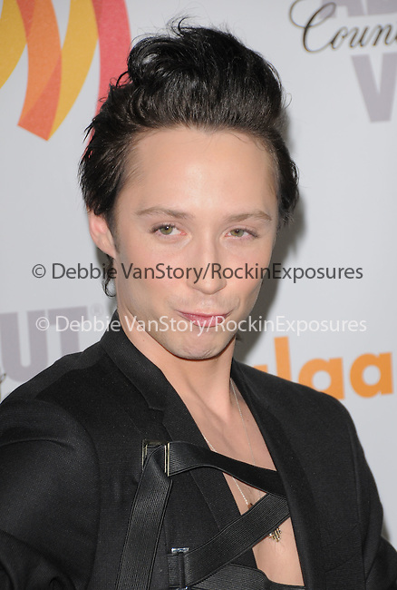 Johnny Weir at the 21st Annual GLAAD Media Awards held at The Hyatt Regency Century Plaza in Century City, California on April 17,2010                                                                   Copyright 2010  DVS / RockinExposures