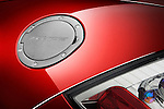 Closeup detail of the gas cap on a 2009 Mitsubishi Eclipse GT Spyder Convertible