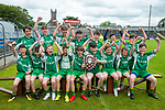 Kilnamona team following the win over Mountshannon/Lackyle in their Schools Division 3 final at Cusack Park. Photograph by John Kelly