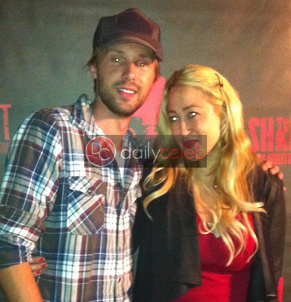 "Gary Cairns, Jennifer Blanc<br /> at the ""Malignant"" Premiere at Shriekfest, Raleigh Studios, Hollywood, CA 10-04-13<br /> David Edwards/Dailyceleb.com 818-249-4998"
