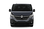 Car photography straight front view of a 2020 Renault Trafic Grand-Confort 4 Door Cargo Van