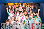 'Meet and Greet' competition winners waiting for Jedward at the Kerry County Museum on Friday.