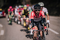 Thomas de Gendt (BEL/Lotto-Soudal) where you'd expect him: up front!<br /> <br /> 76th Paris-Nice 2018<br /> stage 6: Sisteron &gt; Vence (198km)