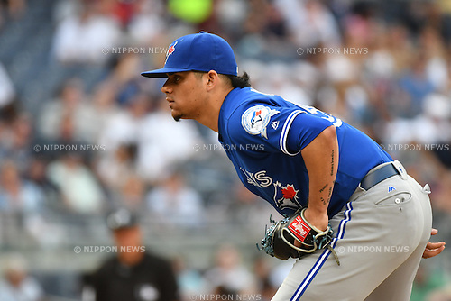 Roberto Osuna (Blue Jays),<br /> MAY 26, 2016 - MLB : Roberto Osuna of the Toronto Blue Jays during the Major League Baseball game at Yankee Stadium in the Bronx, NY, USA.<br /> (Photo by Hiroaki Yamaguchi/AFLO)