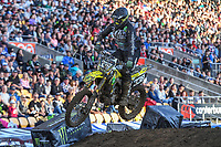SX2 action<br /> 2018 SX Open - Auckland / SX 2<br /> FIM Oceania Supercross Championships<br /> Mt Smart Stadium / Auckland NZ<br /> Saturday Nov 24th 2018<br /> © Sport the library/ Jeff Crow / AME