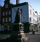 Statue of Queen Victoria, Windsor, Berkshire, England