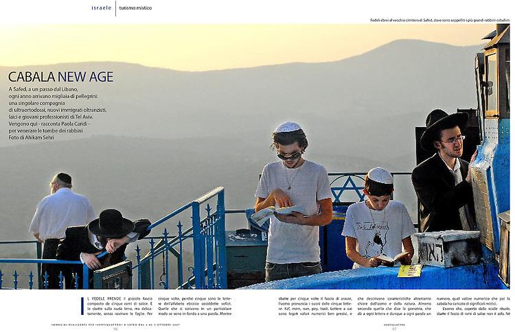 VentiQuattro magazine, Italy - October 2, 2007
