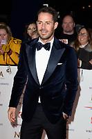 Jamie Redknap<br /> arriving for the National TV Awards 2019 at the O2 Arena, London<br /> <br /> ©Ash Knotek  D3473  22/01/2019