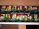Iraq 2015 <br /> Poster in Duhok with photos of peshmerga killed when fighting Daesh  <br /> Irak 2015 <br /> Dans Dohok, affiche avec les portraits de peshmerga tu&eacute;s sur le front.