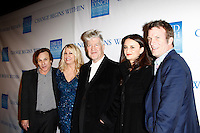 LOS ANGELES, CA - DEC 3: Steve Railsback, Lois Lee, David Lynch, wife Emily Stofle, Thomas Jane at the 3rd Annual 'Change Begins Within' Benefit Celebration presented by The David Lynch Foundation held at LACMA on December 3, 2011 in Los Angeles, California