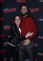 NEW YORK, NY - OCTOBER 6: Michelle Yeoh, Shazad Latif at the panel discussion for the new season of the CBS series Star Trek: Discovery during New York Comic Con 2018 at The Hulu Theater at Madison Square Garden in New York City on October 6, 2018. <br /> CAP/MPI/RW<br /> &copy;RW/MPI/Capital Pictures