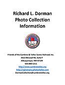 Richard L. Dorman Photo Collection Title Page
