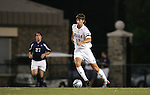 Chris Loftus (12) of Duke University on Tuesday September 27th, 2005 at Duke University's Koskinen Stadium in Durham, North Carolina. The Duke University Blue Devils defeated the Longwood University Lancers 3-1 during an NCAA Division I Men's Soccer game.