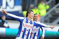 VOETBAL: HEERENVEEN: Abe Lenstra Stadion, 23-02-2015, Eredivisie, sc Heerenveen - FC Groningen, Eindstand: 3-1, Simon Thern, ©foto Martin de Jong