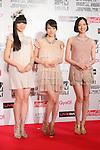 Perfume, June 23, 2012 : MTV VIDEO MUSIC AID JAPAN 2012 at Makuhari messe in Chiba, Japan. (Photo by Yusuke Nakanishi/AFLO) [1090]
