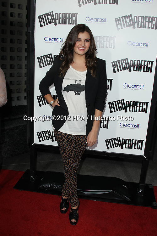 """LOS ANGELES - SEP 24:  Rebecca Black arrives at the """"Pitch Perfect'"""" Premiere at ArcLight Cinemas on September 24, 2012 in Los Angeles, CA"""