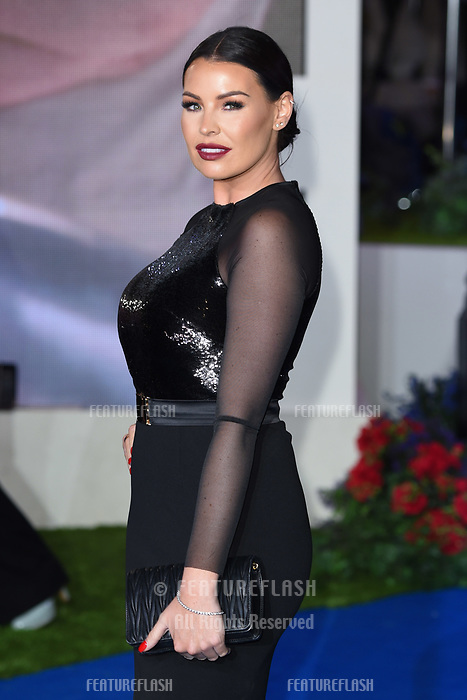 LONDON, UK. December 12, 2018: Jessica Wright at the UK premiere of &quot;Mary Poppins Returns&quot; at the Royal Albert Hall, London.<br /> Picture: Steve Vas/Featureflash