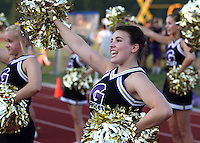 Fans & Cheerleaders at Lutheran football game 9-2-11