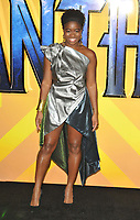 Clara Amfo at the &quot;Black Panther&quot; European film premiere, Hammersmith Apollo (Eventim Apollo), Queen Caroline Street, London, England, UK, on Thu 08 February 2018.<br /> CAP/CAN<br /> &copy;CAN/Capital Pictures
