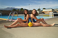 Orange High School Girls Water Polo Team photo.